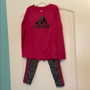 Girls Adidas outfit